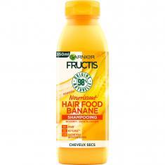 Shampooing Nourrissant Hair Food Banane pour cheveux secs FRUCTIS