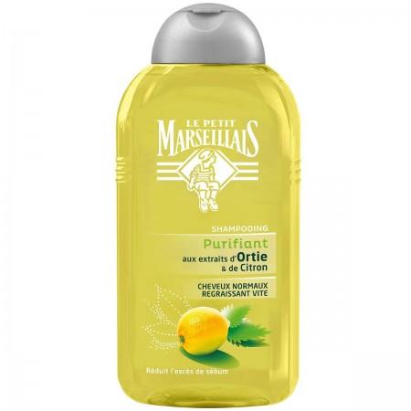 Shampooing Purifiant aux extraits d'Ortie & de Citron